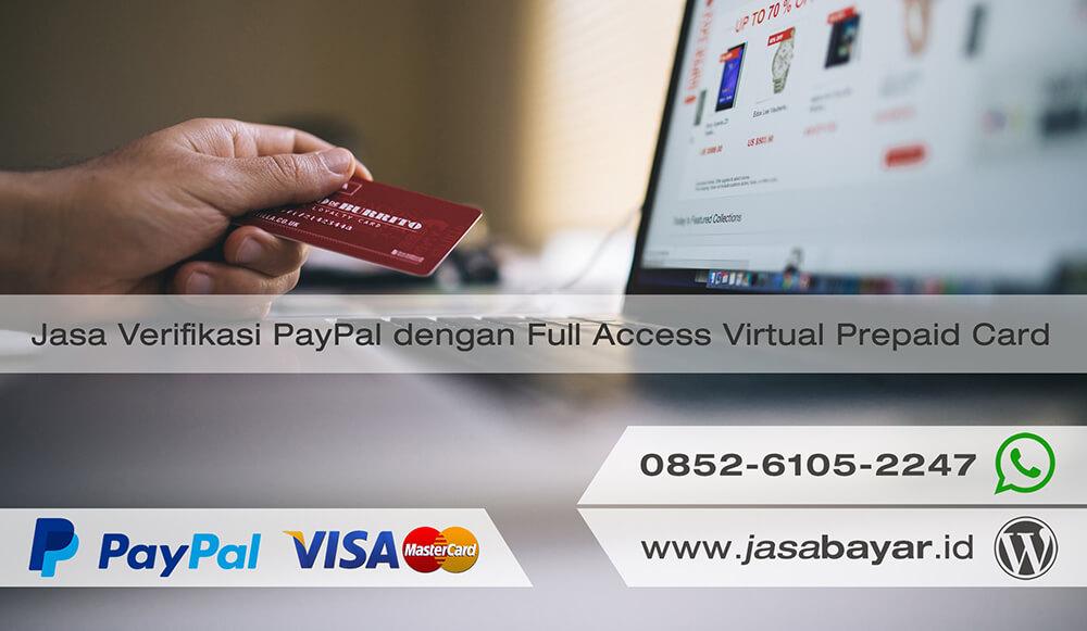 Jasa Verifikasi akun PayPal Berkualitas tinggi