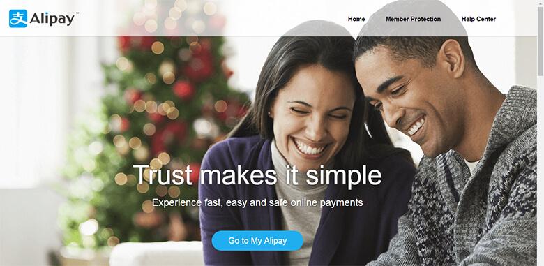 Alipay sebagai metode pembayaran Aliexpress