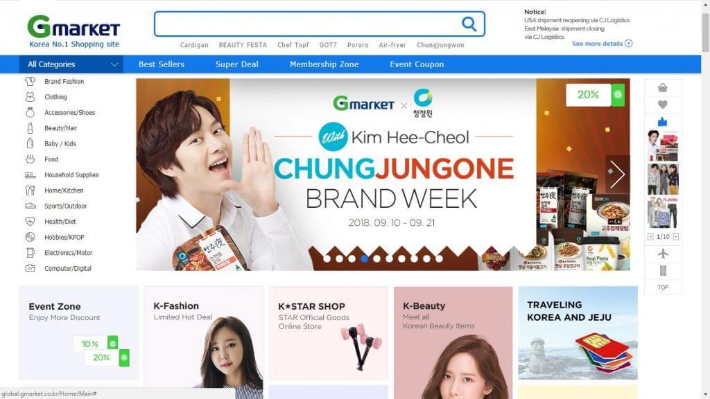 Review GMARKET (ebay Korea) : Belanja online produk Korea berkualitas
